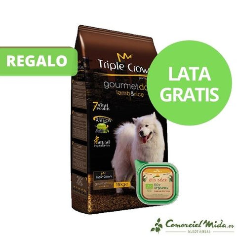 Pienso TRIPLE CROWN GOURMET DOG para perros adultos