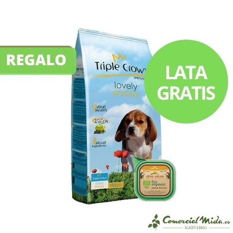 Pienso TRIPLE CROWN LOVELY PUPPY para cachorros y madres gestantes