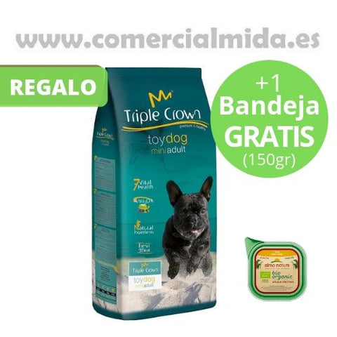 Pack Ahorro Pienso Perros Triple Crown Toy Dog