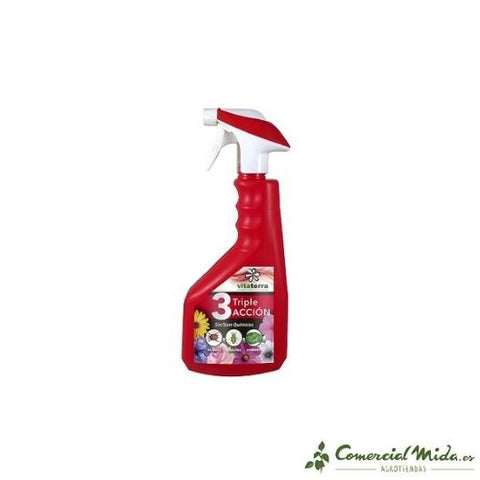 Spray anti hongos ecológico Triple Acción 750 ml de Vitaterra