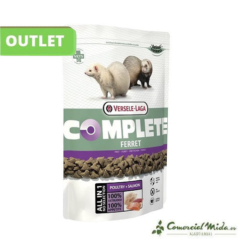 [OUTLET] Versele Laga Ferret Complete Pienso Para Hurones 750 Gr