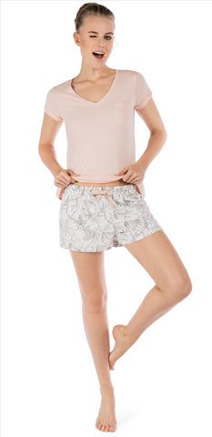 Kurz Safari Sleep Pyjama Short Set | Ensemble Pyjama Short Kurz Safari Sleep