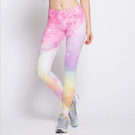 Unicorn - Air Tight Fairytale Yoga Leggings - Yobaby Apparel