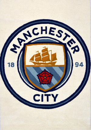 Manchester City-130 Wool Hand Tufted