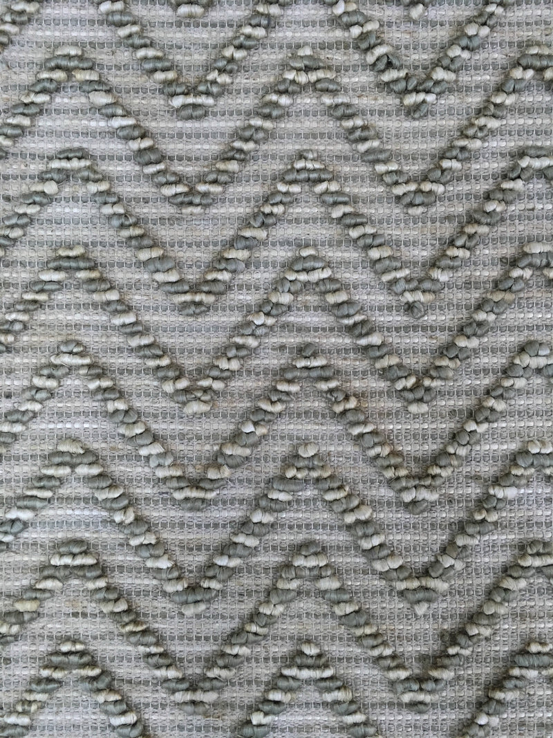 Hemp HandWoven Rug_Wave - HummingHaus