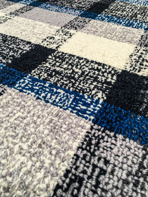 Wool HandTufted Carpet_Dual Denim - HummingHaus
