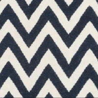 Wool Handwoven Dhurry_Round Chevron
