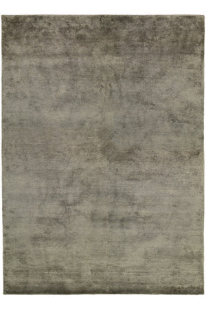 Viscose HandKnotted Carpet_ Pile Grey