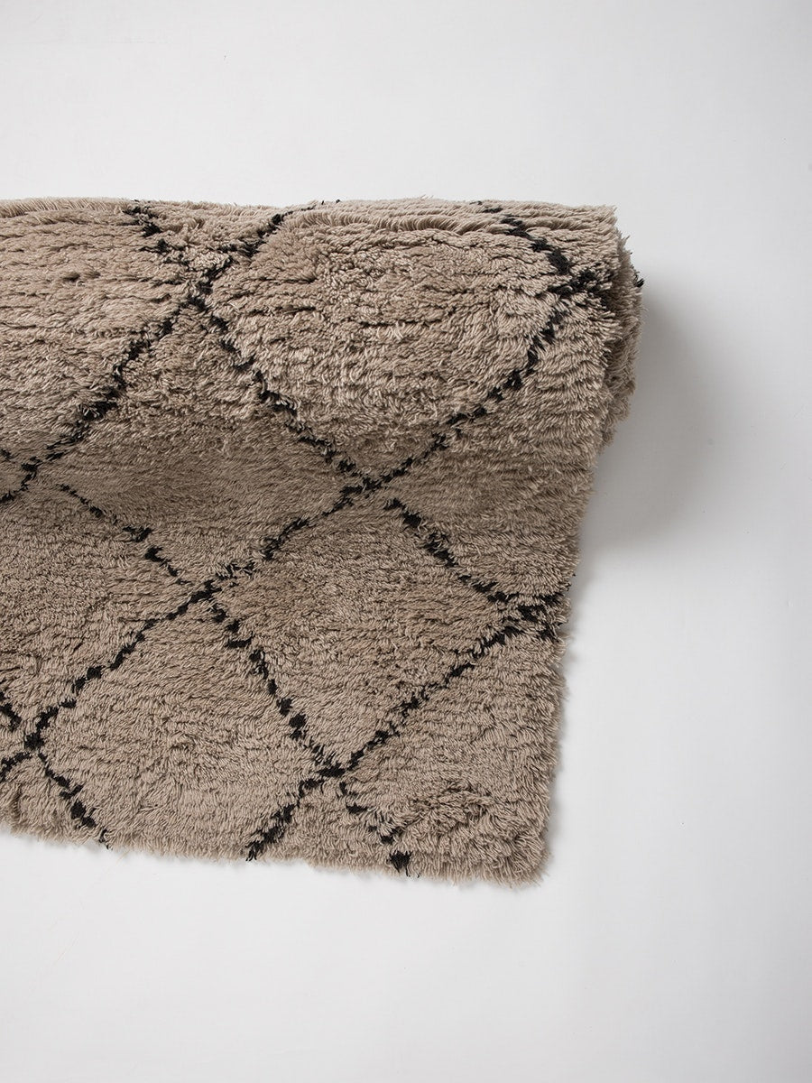 Wool HandTufted Carpet_Diagonal - HummingHaus