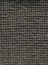 Woolen Handwoven Rug_Loop Graphite - HummingHaus