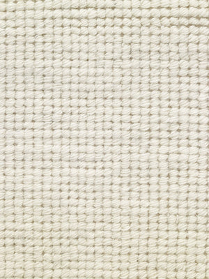 Woolen Handwoven Rug_Loop White - HummingHaus