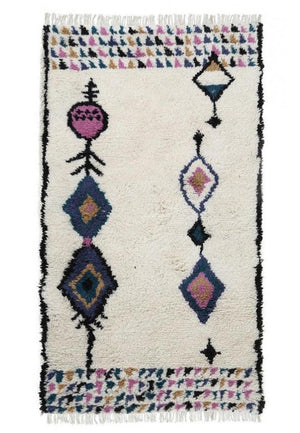 Wool HandKnotted Carpet_Moroccan Mara