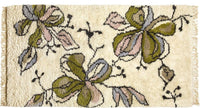 Wool HandKnotted Carpet_Moroccan Floral - HummingHaus
