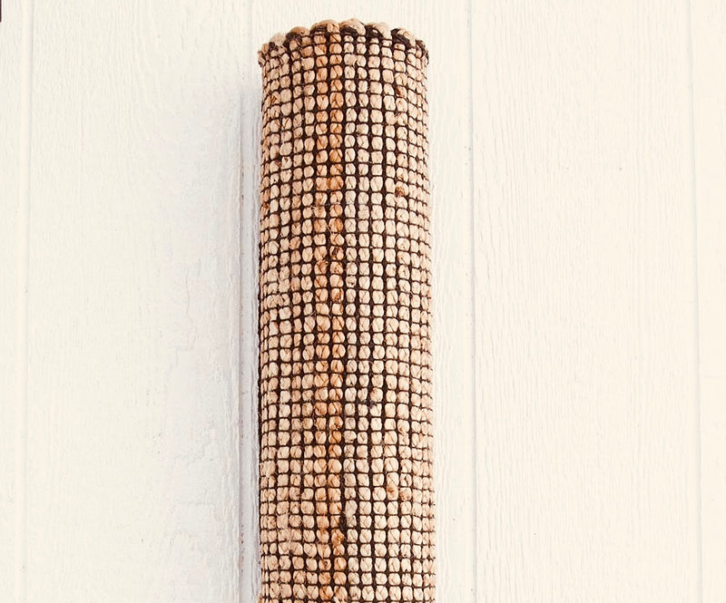 Natural & Black - Hemp Handwoven