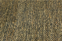 Hemp Handwoven Rug_Mix Knot - HummingHaus