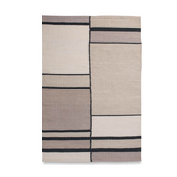 Cotton Hand Woven Rug_Ray - HummingHaus