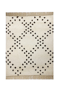 Moroccan - Beni Wool (New Zealand) Hand Knotted