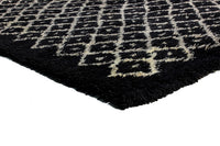 Cross 100% Wool Weave (With Cotton Backing) Hand Tufted - Pile