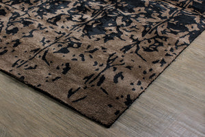 Clavis Bamboo Silk Hand Tufted Carpet-HummingHaus