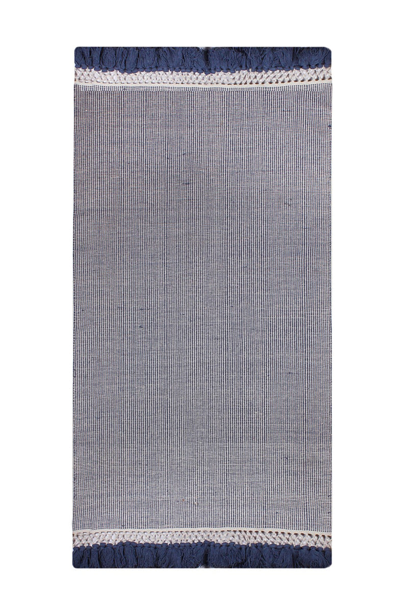 Cotton Hand Woven Rug_Purcot-HummingHaus