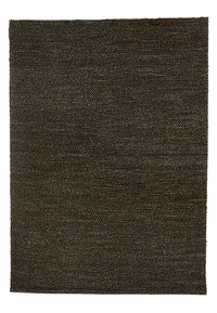 Hemp Hand Woven Rug: Grey Loop
