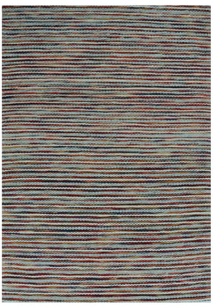 Woolen Handwoven Rug: ColorLines