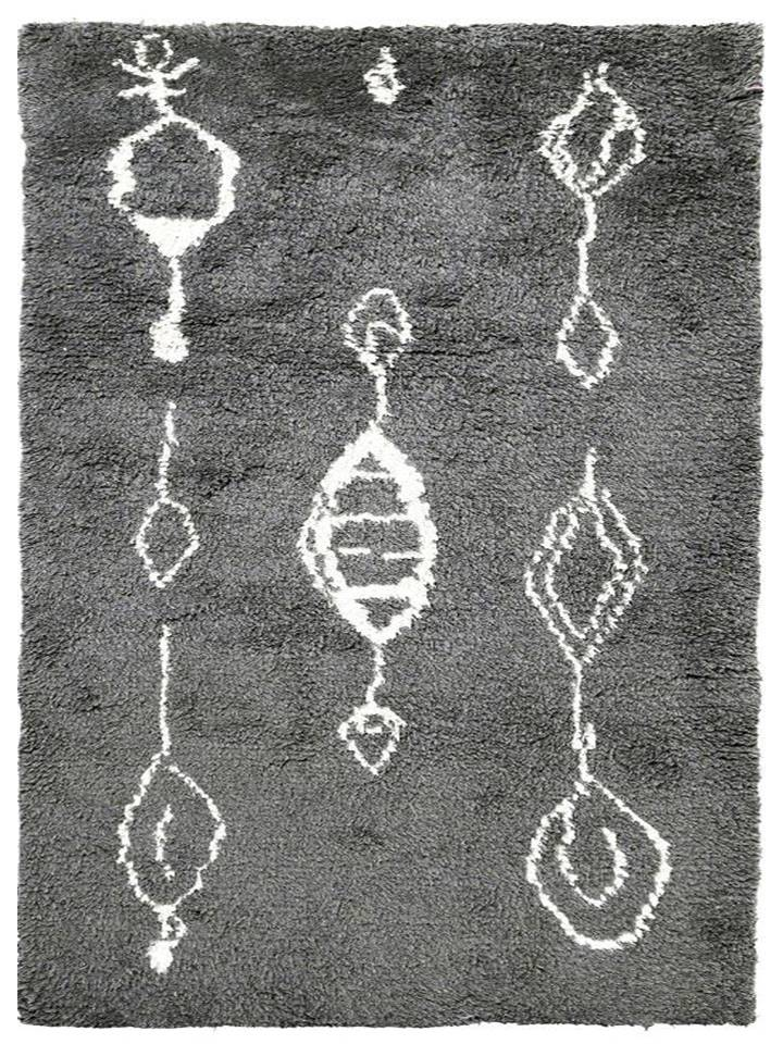 Wool HandKnotted Carpet_Moroccan Eleganc - HummingHaus