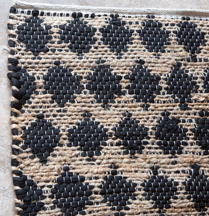 Cotton & Hemp Handwoven Rug_Tahiti