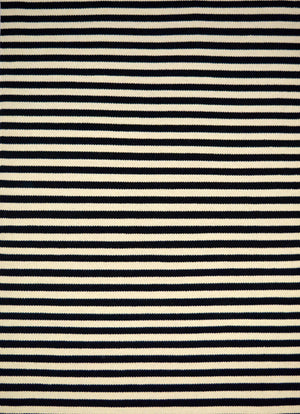 Woolen Handwoven Dhurry - Stripe 80% Wool & 20% Cotton Hand-woven- Flat