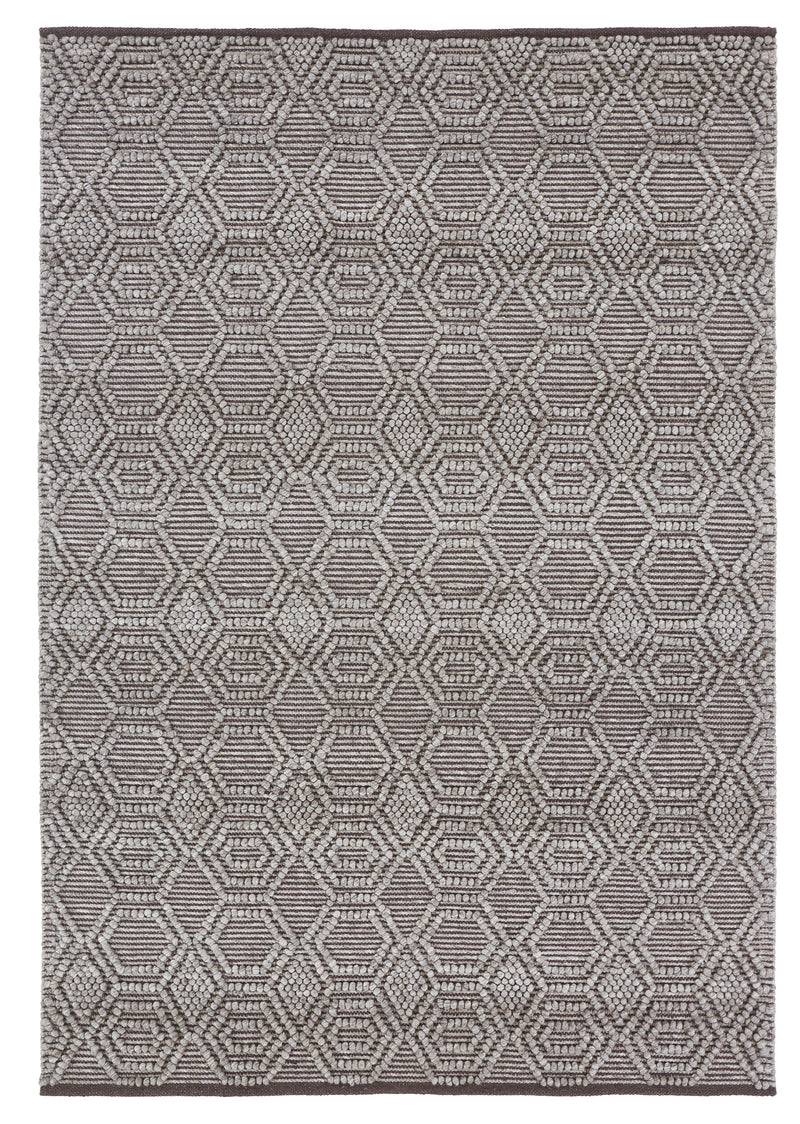 Natural Wool Handwoven Rug-Rio