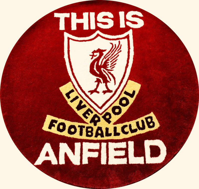 Liverpool FC-131 Wool Hand Tufted