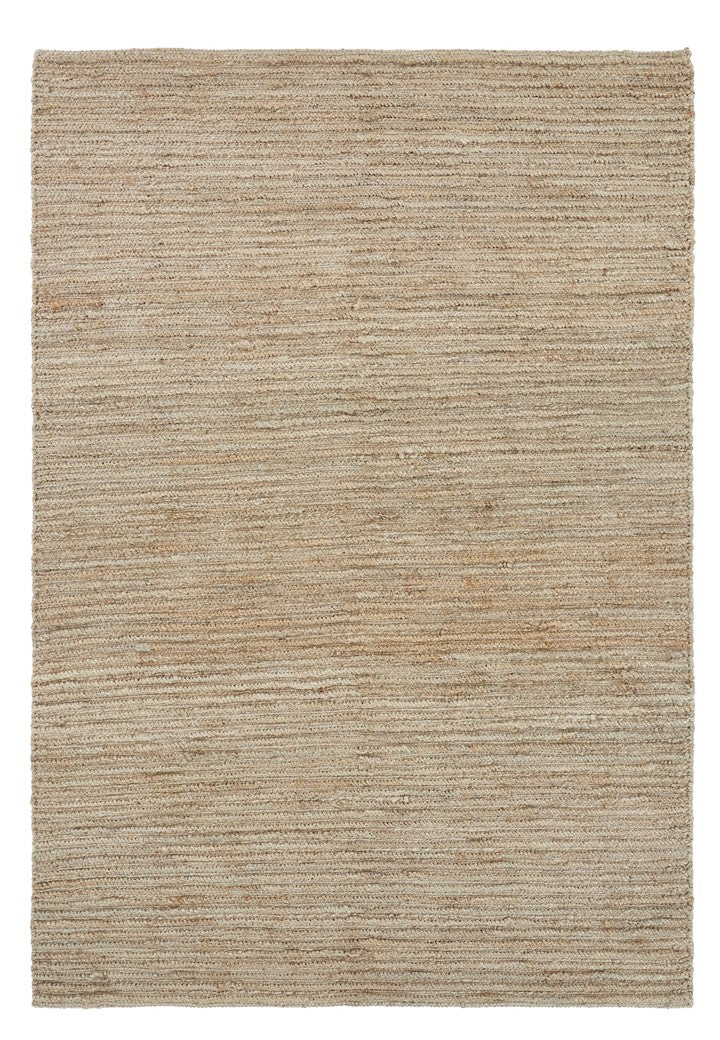 Hemp Handwoven Rug-Natural Ribbon