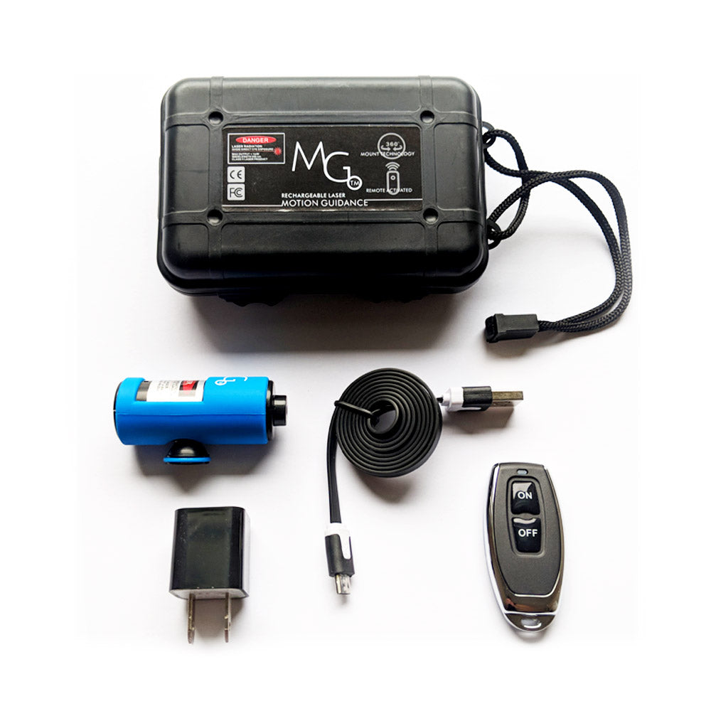 Rechargeable Remote Laser