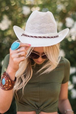 Home Sweet Home Cowgirl Fedora