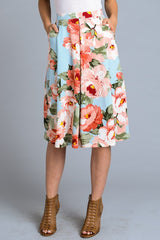 Tickle me floral skirt with pockets