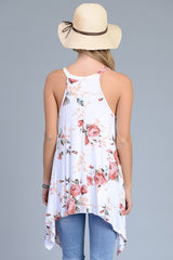 In the good old summertime floral tank