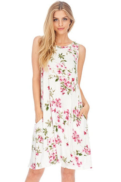 Lovely floral tank dress