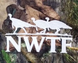 Nationa Wild Turkey Federation Embroidered Logo