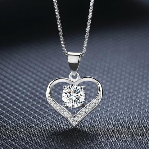 Love with necklace