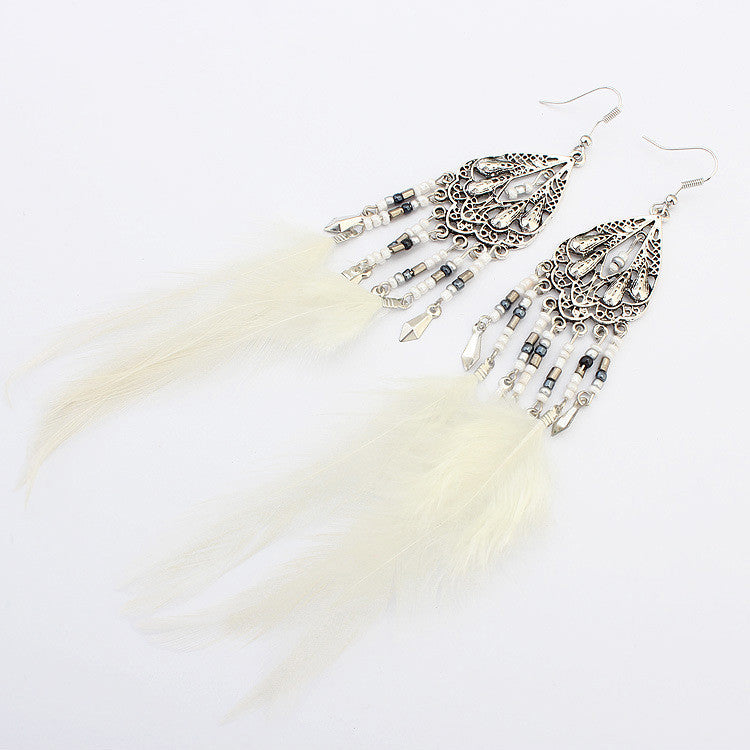 Kissvivi Vintage Jewelry Tassel Earrings CK00744