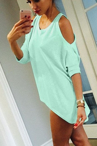 Fashion Shirt Women's T-Shirt Green Tops Pink