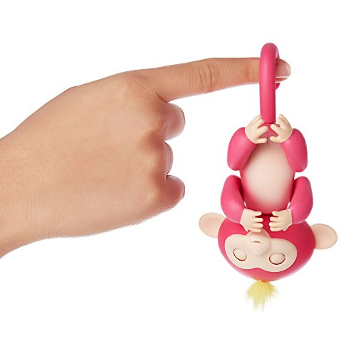 Fingerlings - Interactive Baby Monkey - Sophie (White with Pink Hair)
