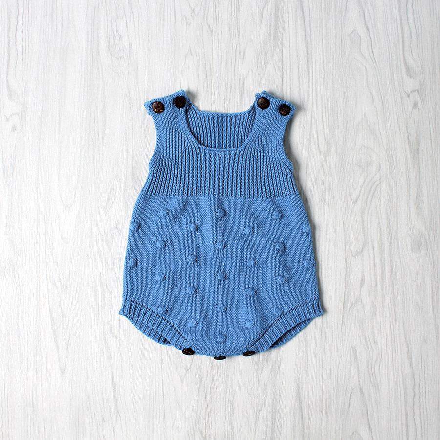 knitted sweaters one-piece baby jumpsuit romper multi colors