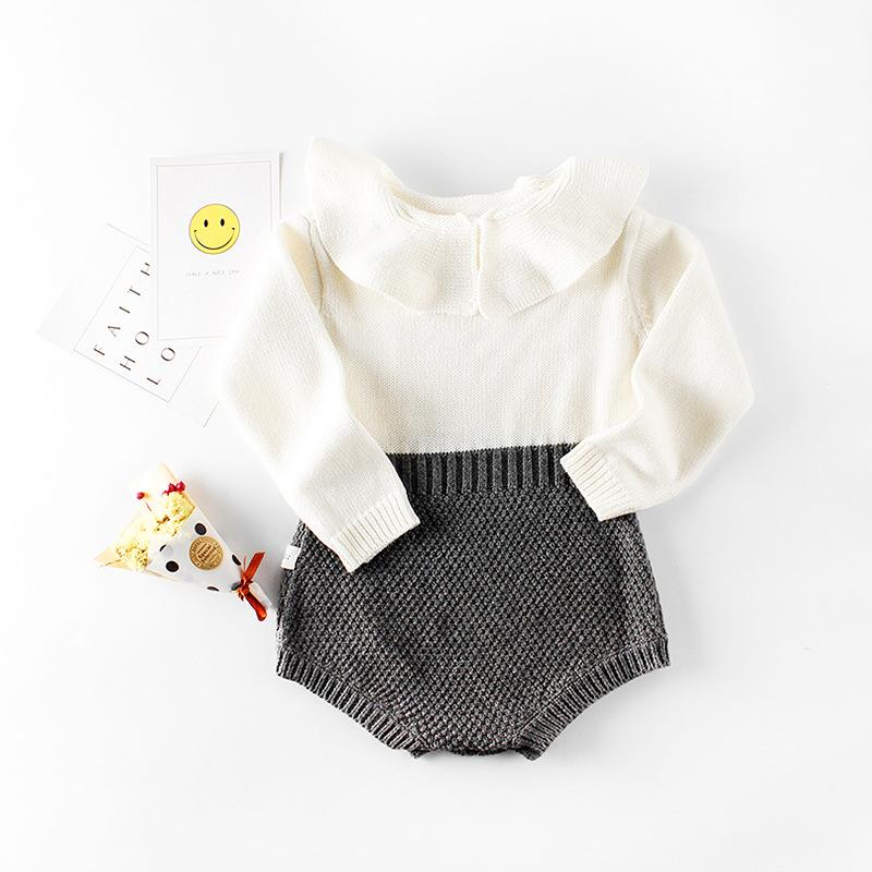 2 pieces Baby Collar Bodysuit