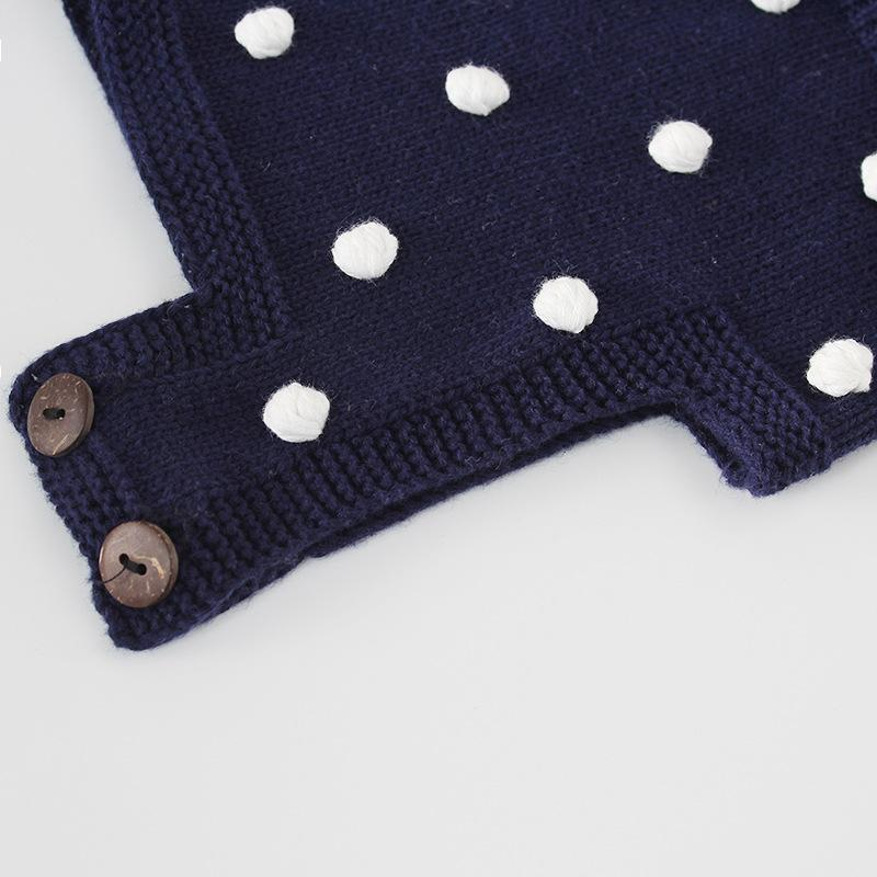 Baby Cotton Printed Dot Bodysuit