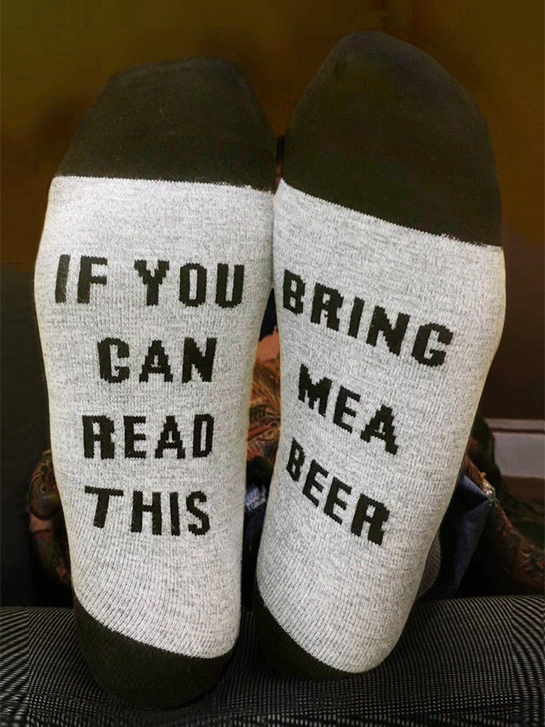 If You Can Read This Socks 4