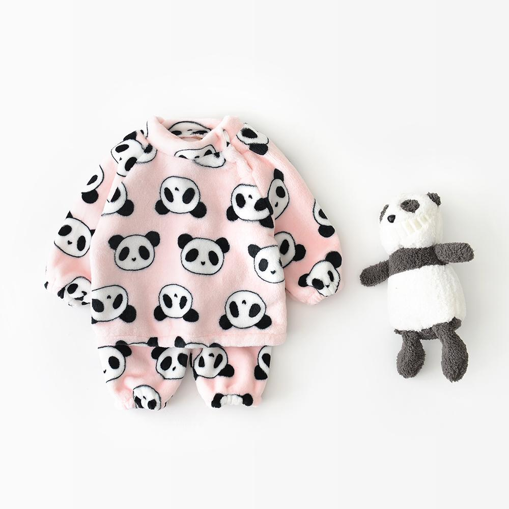 Cartoon printed Baby Bodysuit Flannel