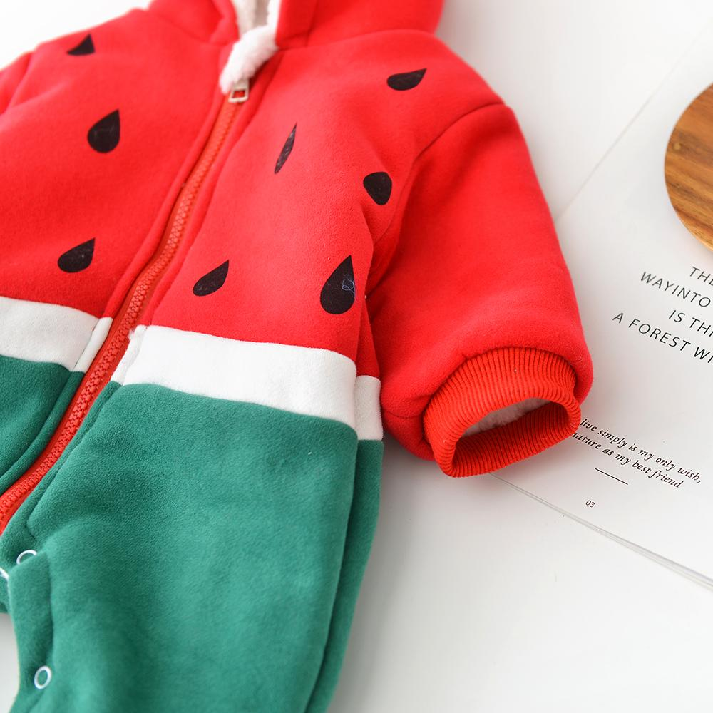 Baby Cotton Printed watermelon Bodysuit