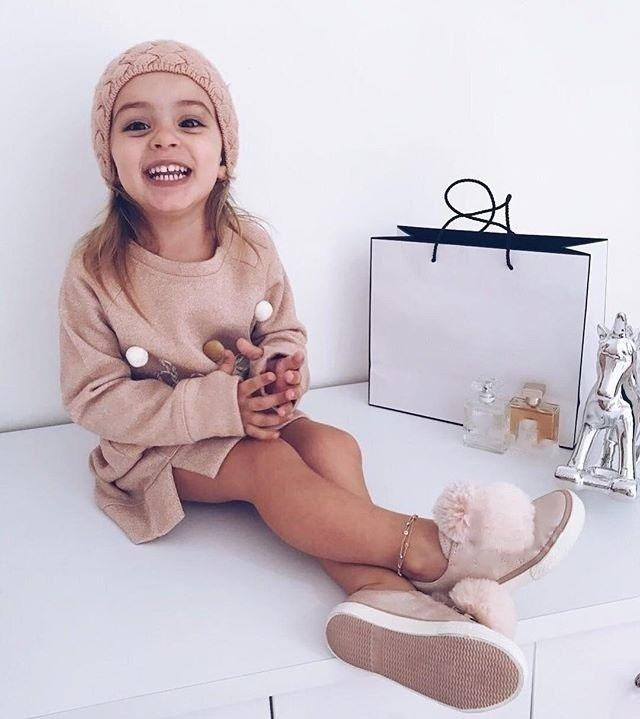Girl Mni Dress Children Clothes Long Sleeve Dresse Fashion Girl Dress