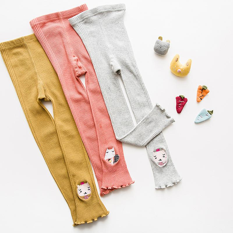 Kids Baby Girls Soft Clothes Bottoms Leggings Pants Toddler Trousers